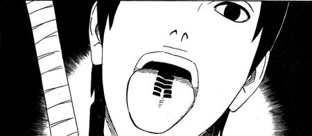 The tattoo on Sai's tongue is a seal that instantly renders his body useless