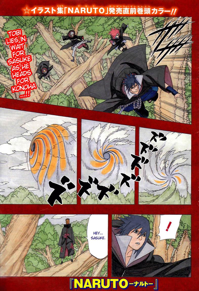 Uncategorized Naruto Manga Color Pages naruto color pages manga shannaro page 42