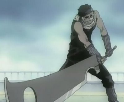 Les 4 cardinaux zombies  Momochizabuza-sword