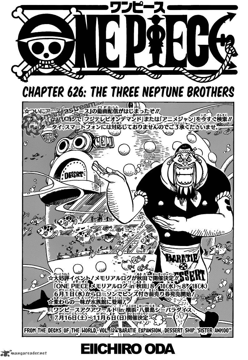 One Piece Cover Stories Read Read Chapter One Piece 626
