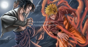 Sasuke_vs_Naruto___final_fight_by_Arya_Aiedail