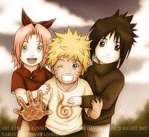 Naruto__Young_Team_7_by_HazuraSinner