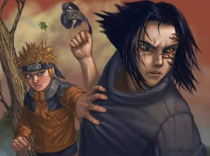 Sasuke_betrays_Naruto_by_jonWILEY